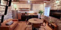 duplex KAPELICA f03-K04 living room - side A-250-95