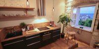 z duplex KAPELICA K01 living room - window 1 wiev-250-95