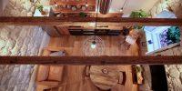 z duplex KAPELICA K06 living room - seen above250-95