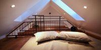 z duplex KAPELICA K12 attic_garret - bed for two-250-95